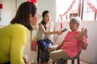 Volunteer health worker interviewed in Philippines